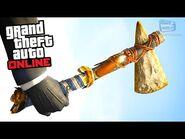 GTA Online - Stone Hatchet Challenge (Red Dead Redemption 2 Weapon)