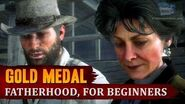 Red Dead Redemption 2 - Mission 90 - Fatherhood, for Beginners Gold Medal
