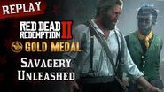 RDR2 PC - Mission 57 - Savagery Unleashed Replay & Gold Medal