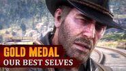 Red Dead Redemption 2 - Mission 85 - Our Best Selves Gold Medal