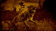 Loup d'émeraude légendaire