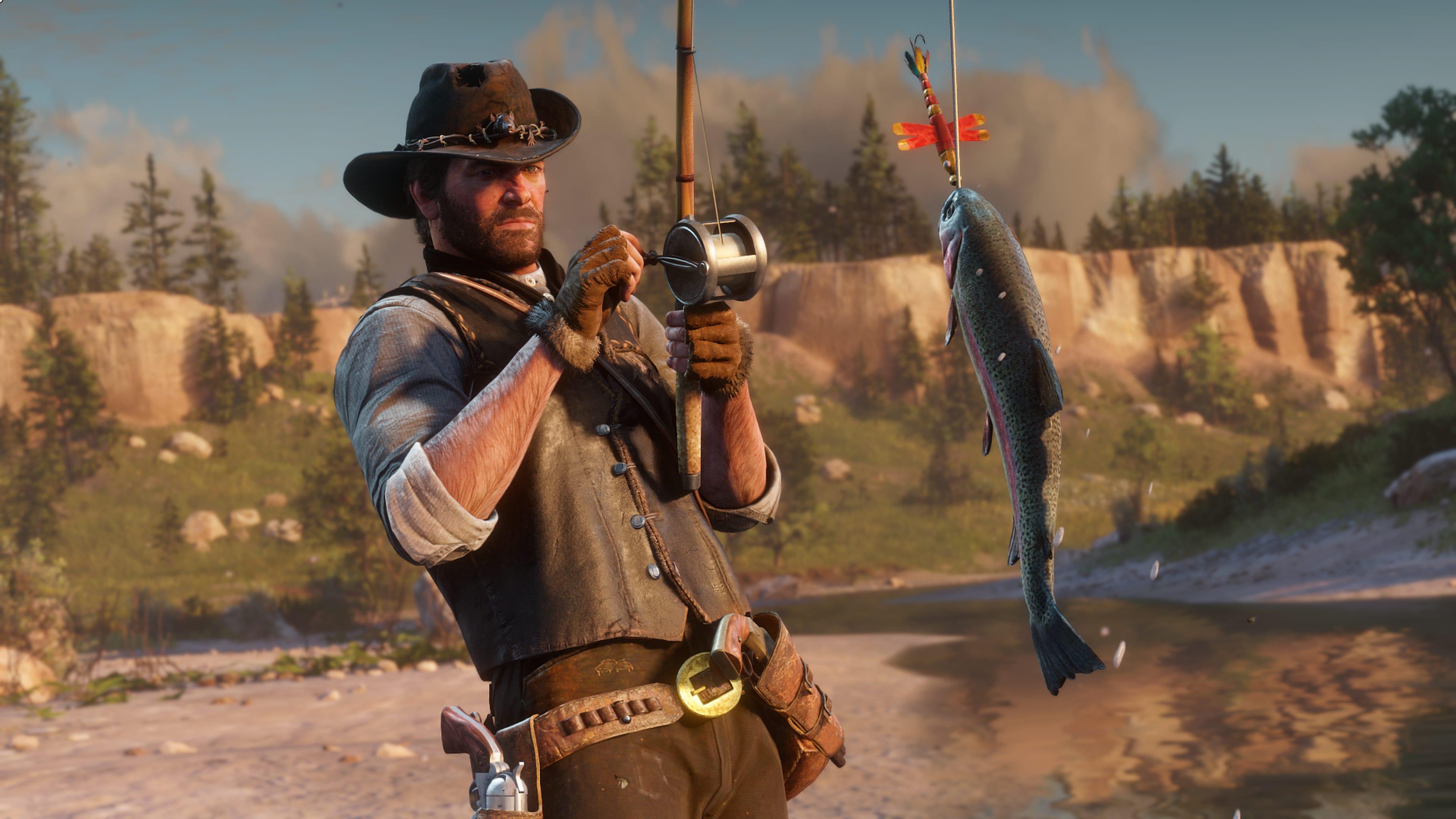 Poissons dans Red Dead Redemption II
