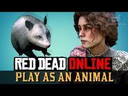 Red Dead Online - Play as an Opossum -Harrietum Officinalis-