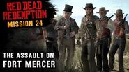 Red Dead Redemption - Mission 24 - The Assault on Fort Mercer (Xbox One)