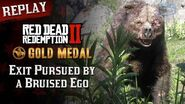 RDR2 PC - Mission 10 - Exit Pursued by a Bruised Ego Replay & Gold Medal