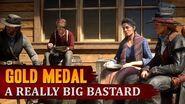 Red Dead Redemption 2 - Mission 105 - A Really Big Bastard Gold Medal