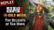 RDR2 PC - Mission 75 - The Delights of Van Horn Replay & Gold Medal