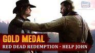 Red Dead Redemption 2 - Final Mission - Red Dead Redemption Help John get to safety