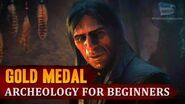 Red Dead Redemption 2 - Mission 75 - Archeology for Beginners Gold Medal