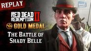 RDR2 PC - Mission 41 - The Battle of Shady Belle Replay & Gold Medal