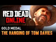 Red Dead Online - Mission -10 - The Hanging of Tom Davies -Gold Medal-