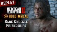 RDR2 PC - Mission 94 - Bare Knuckle Friendships Replay & Gold Medal