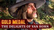 Red Dead Redemption 2 - Mission 78 - The Delights of Van Horn Gold Medal