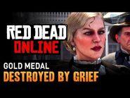 Red Dead Online - Mission -13 - Destroyed by Grief -Gold Medal-