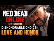 Red Dead Online - Mission -1 - Love and Honor (Dishonorable) -Gold Medal-