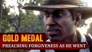 Red Dead Redemption 2 - Mission 35 - Preaching Forgiveness as He Went Gold Medal