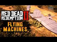 Red Dead Redemption 2 Easter Egg -8 - Flying Machines