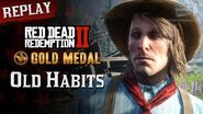 RDR2 PC - Mission 88 - Old Habits Replay & Gold Medal