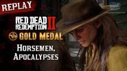 RDR2 PC - Mission 51 - Horsemen, Apocalypses Replay & Gold Medal