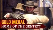 Red Dead Redemption 2 - Mission 96 - Home of the Gentry? Gold Medal