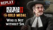 RDR2 PC - Mission 7 - Who is Not without Sin Replay & Gold Medal