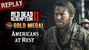 RDR2 PC - Mission 9 - Americans at Rest Replay & Gold Medal