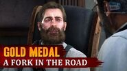 Red Dead Redemption 2 - Mission 65 - A Fork in the Road Gold Medal