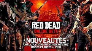 Mise à jour de la bêta de Red Dead Online