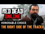 Red Dead Online - Mission -2 - The Right Side of the Tracks (Honorable) -Gold Medal-