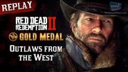 RDR2 PC - Intro & Mission 1 - Outlaws from the West Replay - Gold Medal