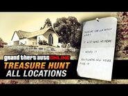 GTA Online Treasure Hunt - All 20 Locations -Double-Action Revolver-