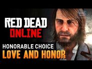 Red Dead Online - Mission -1 - Love and Honor (Honorable) -Gold Medal-