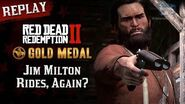 RDR2 PC - Mission 90 - Jim Milton Rides, Again? Replay & Gold Medal