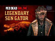 Red Dead Online - Legendary Sun Gator Location -Animal Field Guide-