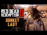 Red Dead Redemption 2 Easter Egg -9 - The Donkey Lady