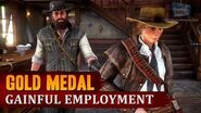 Red Dead Redemption 2 - Mission 95 - Gainful Employment Gold Medal