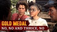 Red Dead Redemption 2 - Mission 47 - No, No and Thrice, No Gold Medal