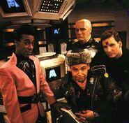 Quality Red Dwarf Crew Image (Season 4)