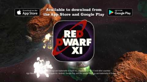 Red Dwarf XI The Game Promotional Advert