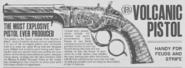 Pistola Volcanic RDRII disegno
