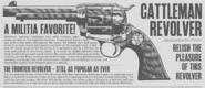 Revolver Cattleman RDRII disegno