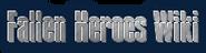 Fallen Heroes Wiki Wordmark