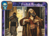 Foolish Boasting (Ap)