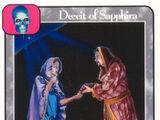 Deceit of Sapphira (G)