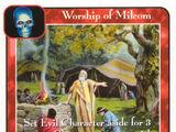 Worship of Milcom (Ki)