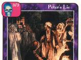 Peter's Lie (E)