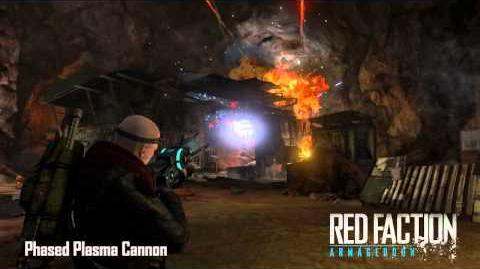 Red Faction Armory Phased Plasma Cannon
