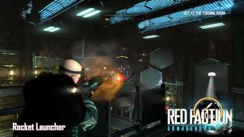Red Faction Armory Rocket Launcher