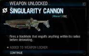Singularity Cannon Unlock RFA