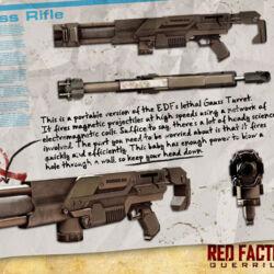 EDF Gauss Rifle